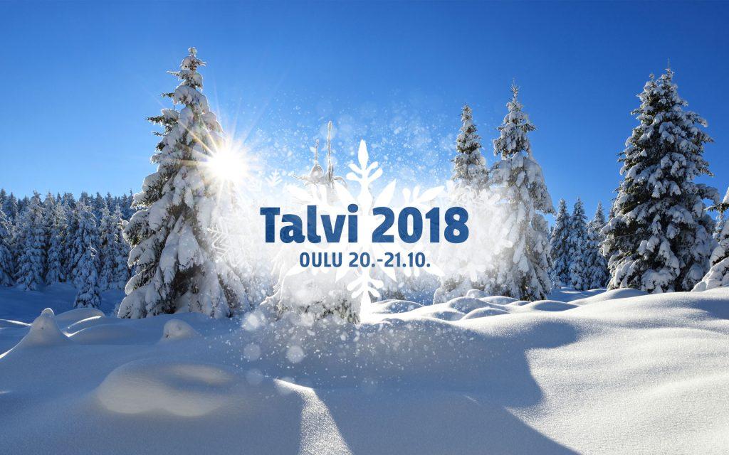 Matkamajakka mukana TALVI 2018-MESSUILLA OULUHALLISSA!